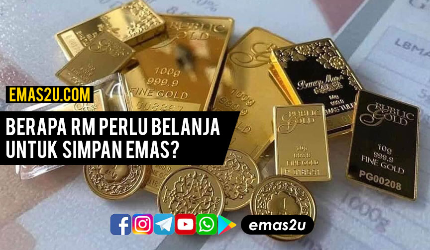 belanja simpan emas