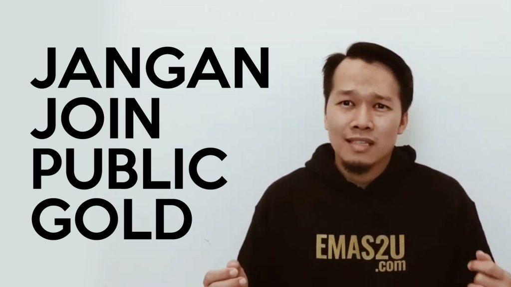 public gold penipu