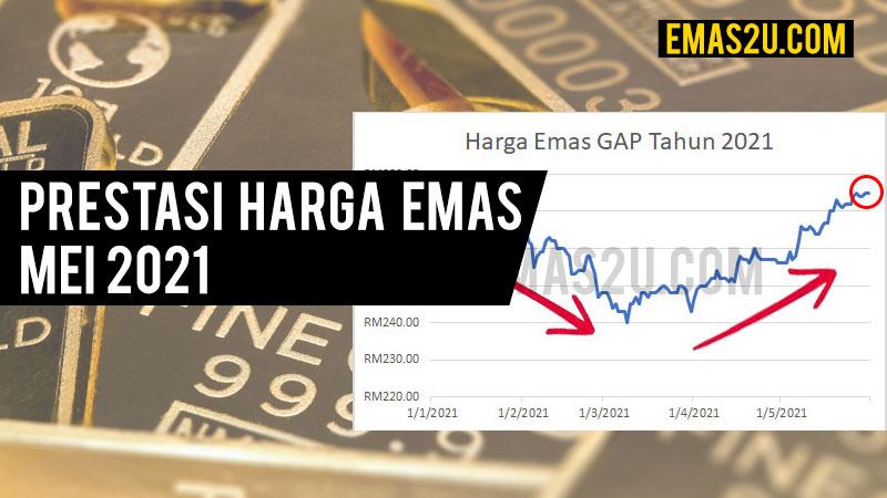 harga emas mei 2021