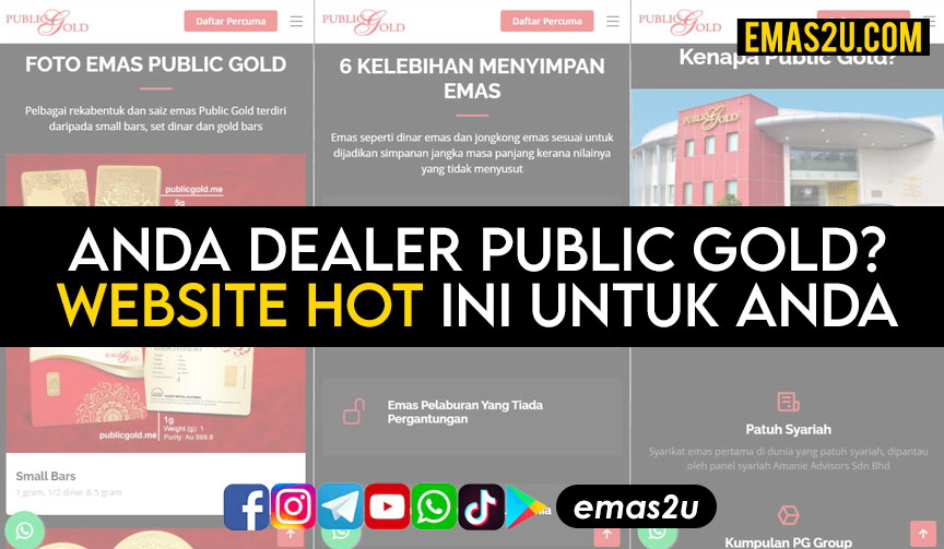 Website Dealer Public Gold