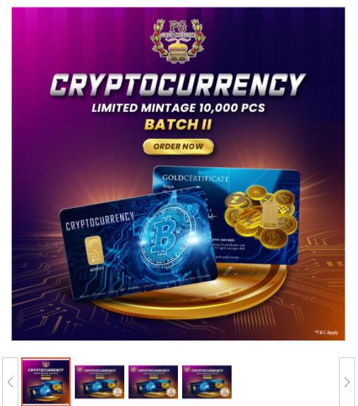 1 gram emas gold 24k cryptocurrency design emas rare